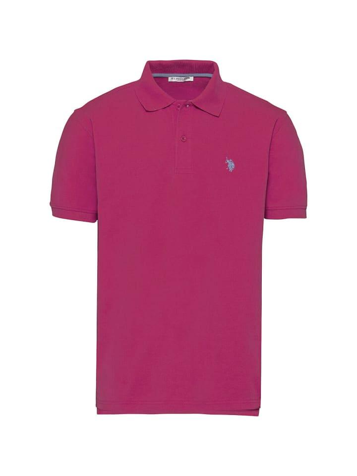U.S. Polo Assn. Basic Poloshirt in BERRY