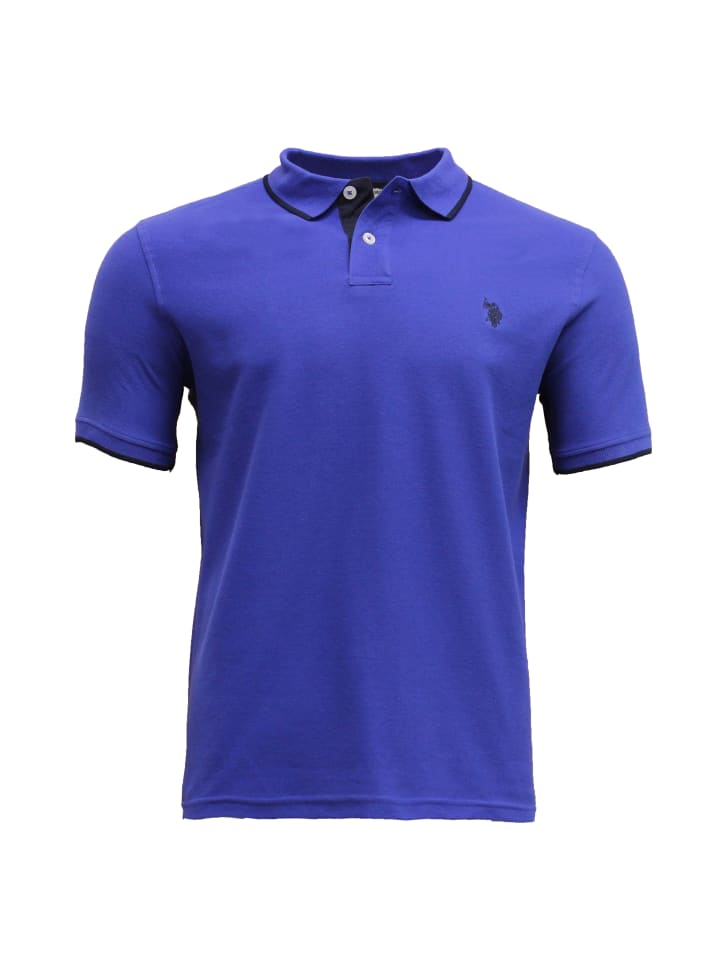 U.S. Polo Assn. Fashion Poloshirt in INDIGOROYAL