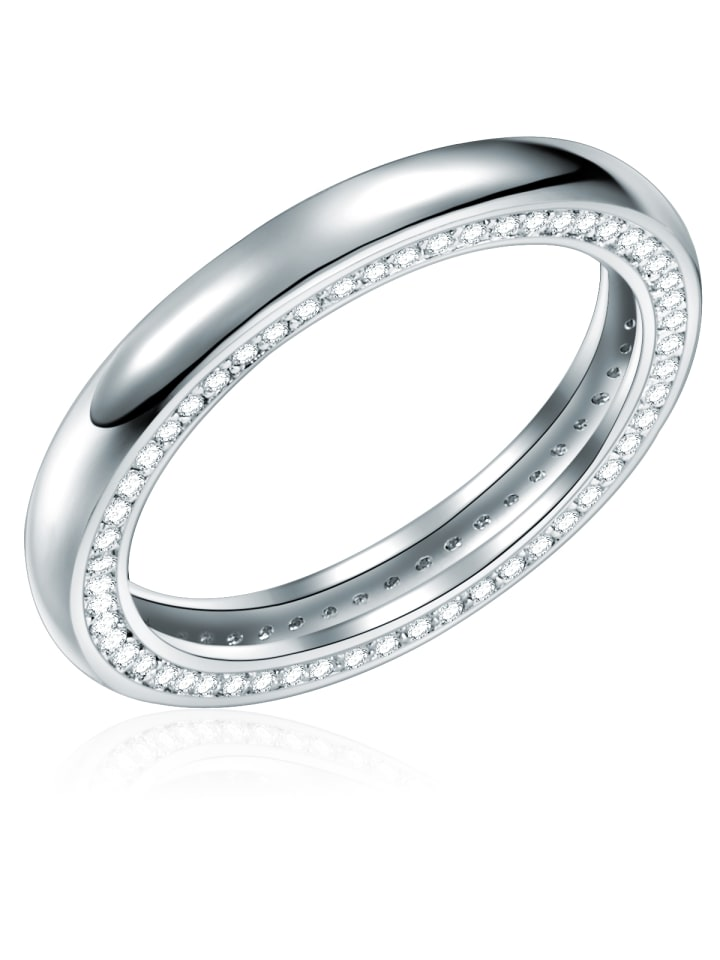Rafaela Donata Ring Sterling Silber Zirkonia (CZ) in Silber in silber