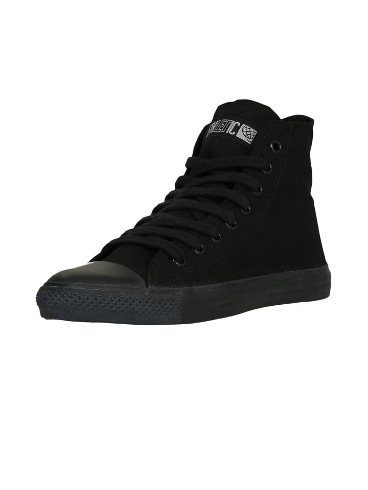Ethletic Sneaker Hi Fair Trainer Black Cap in jet black | jet black