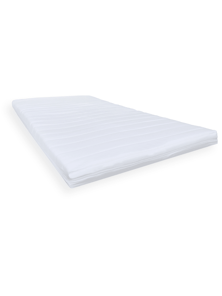 GMD Living Orthopädischer 7-Zonen Visco-Topper ECO Soft in Weiß