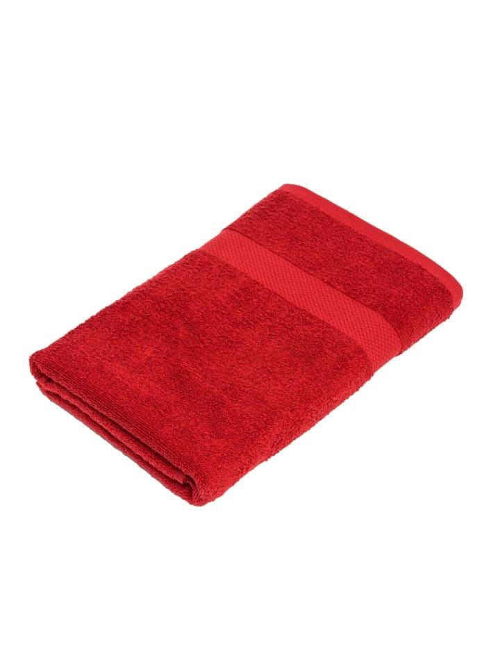 Pureday Duschtuch Basic, Rot
