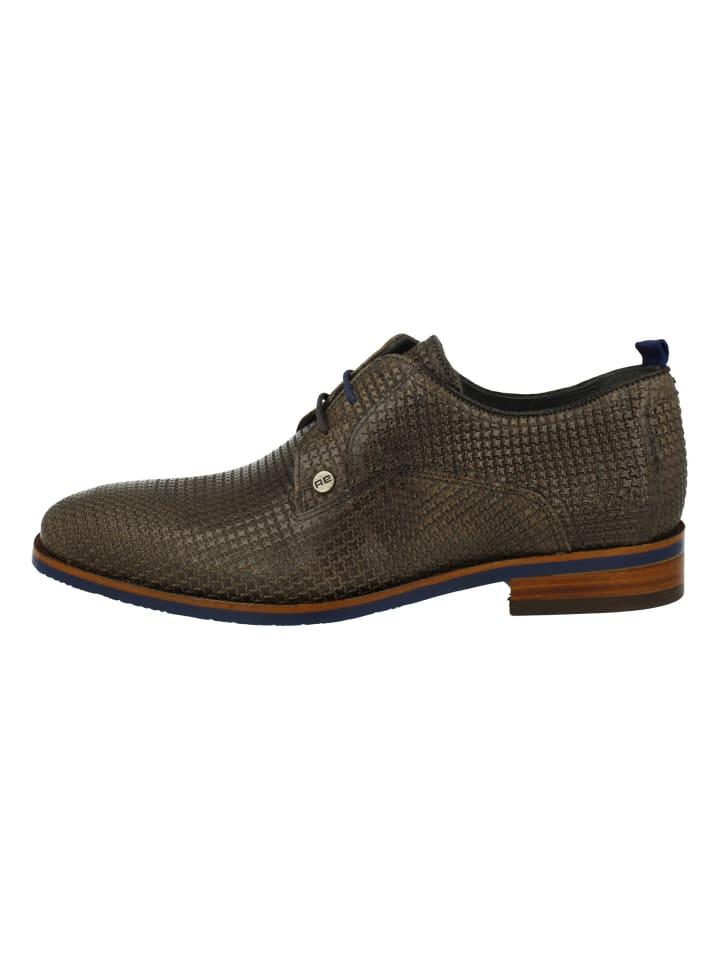 Rehab Formal Shoe in Grau