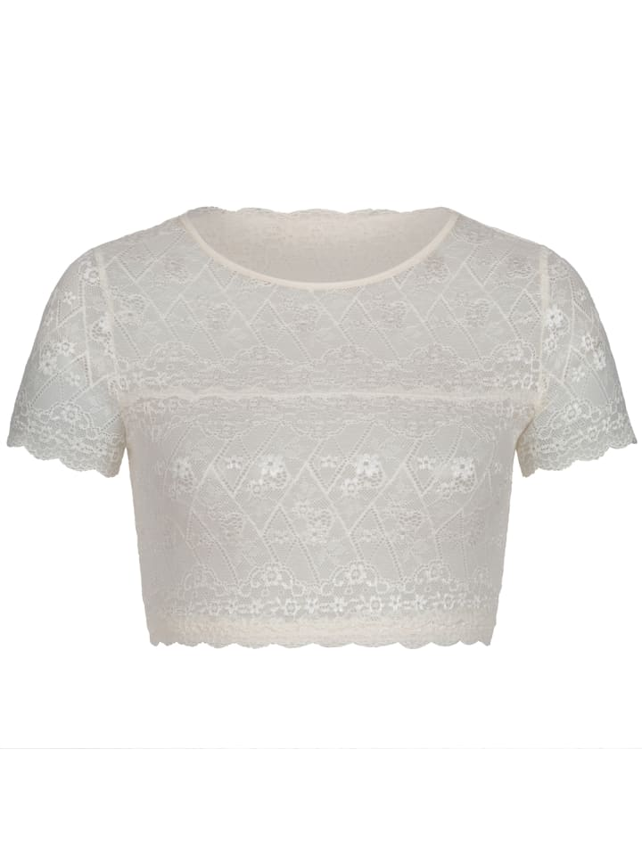 My Choice Dirndlbluse in Champagner
