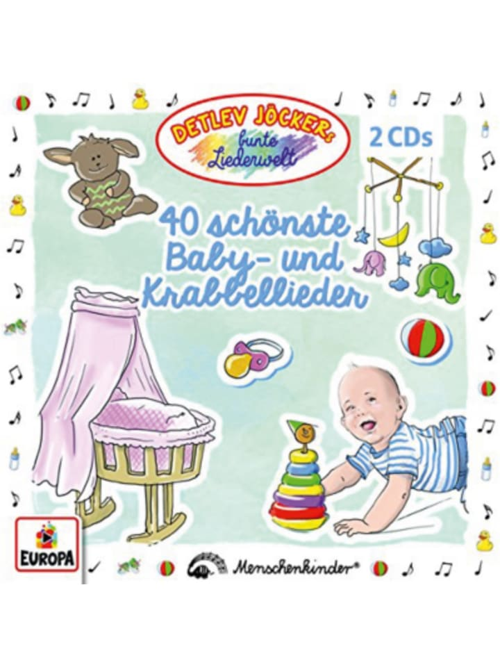 Sony CD Detlef Jöcker - 40 schönste Baby- und Krabbellieder