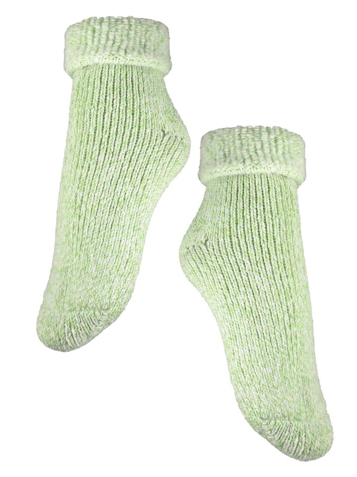 Rogo Socken in Hellgrün