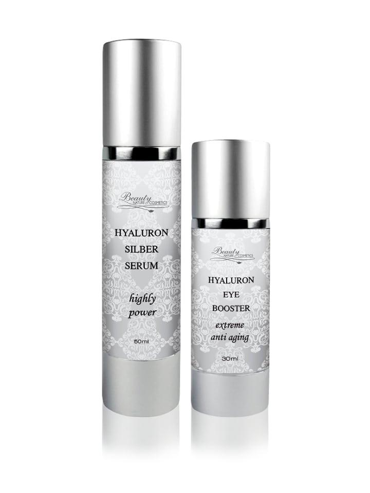 Beauty Nature Cosmetics Hyaluron Eye Booster + Silber Serum