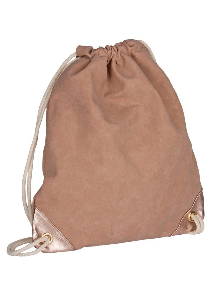 Six Rucksack in nudefarben