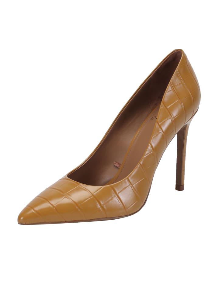 Ekonika High Heels in Gelb
