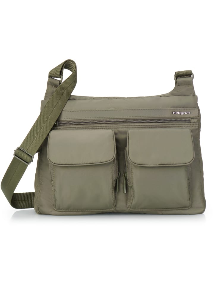 Hedgren Inner City Prarie Umhängetasche RFID 30 cm in olive night