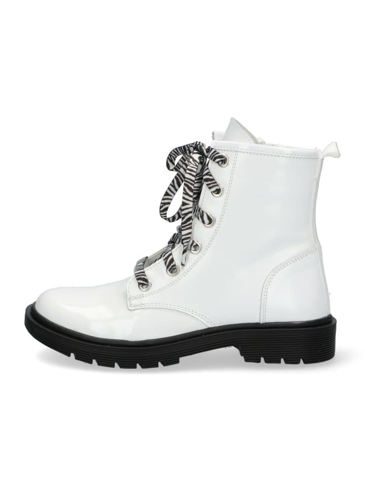 Braqeez Boots Babette Boot in weiß