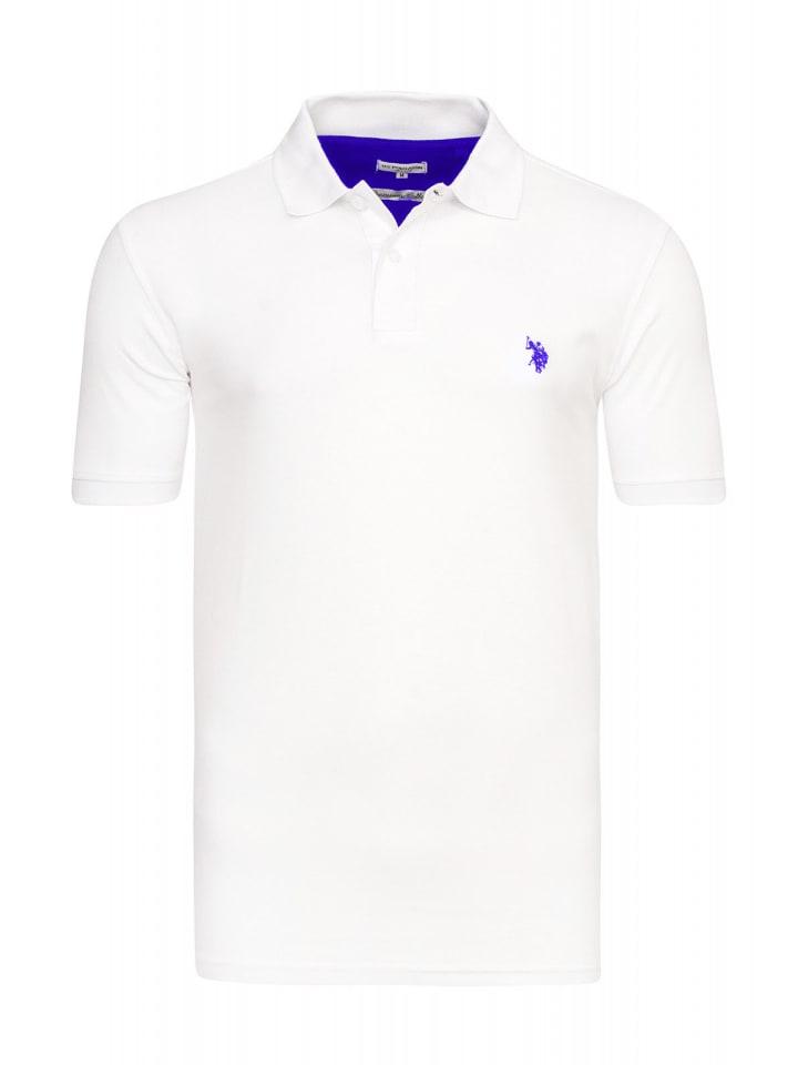 U.S. Polo Assn. Basic Poloshirt in WEISS