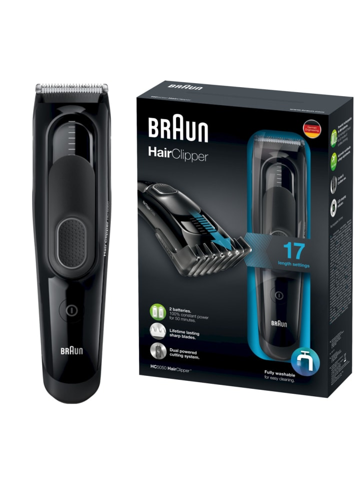 """Braun Haarschneider """"HairClipper HC5050"""" in Schwarz"""