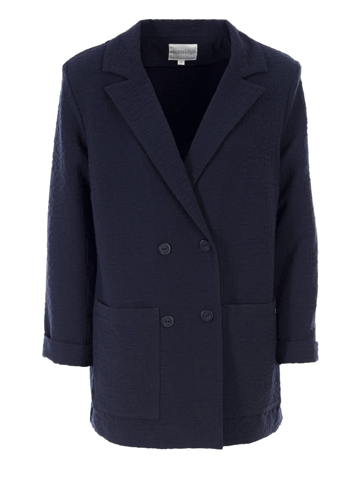 HELMIDGE Blazer Blazer in dunkel blau