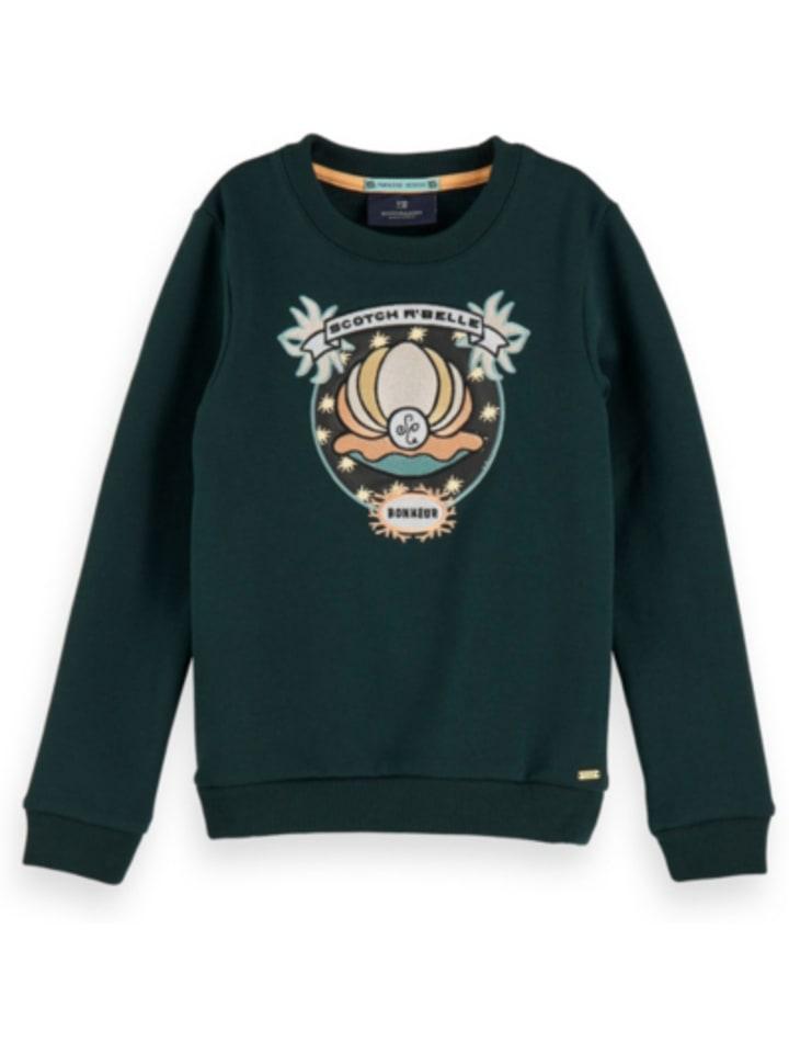 SCOTCH R'BELLE Sweatshirt mit Muschel-Stickerei