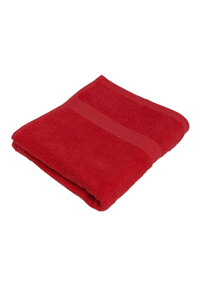 Pureday Handtuch Basic, Rot