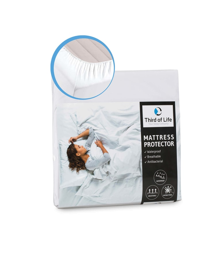 Third of Life Matratzenschoner mit Seitenwänden, 100% wasserdicht und für Allergiker geeignet
