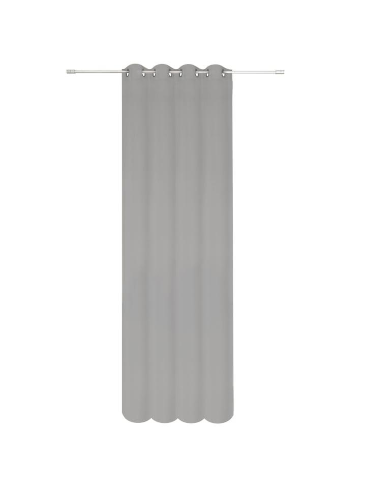 Ondeco® Vorhang mit Ösen Breeze in Grau