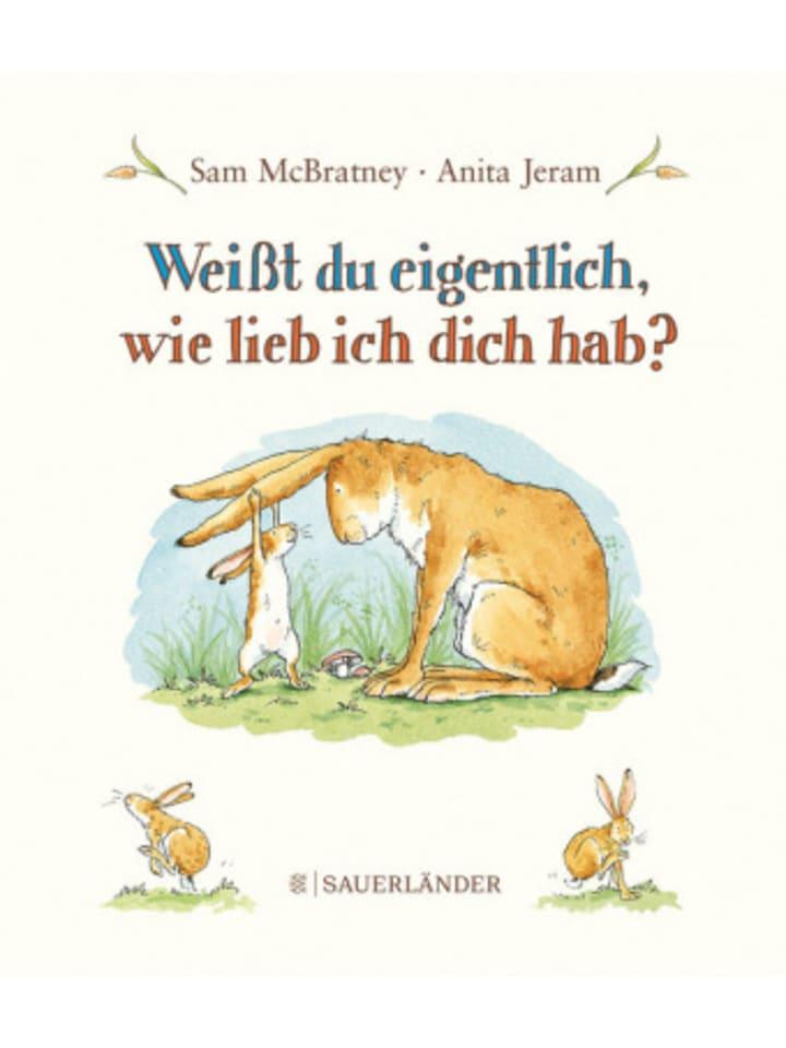 FISCHER Sauerländer Weißt du eigentlich, wie lieb ich dich hab?, Mini-Bilderbuch