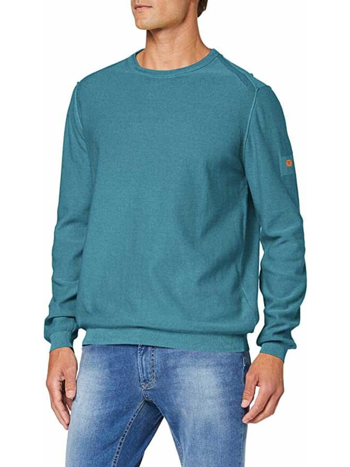 Camel Active Pullover in grün