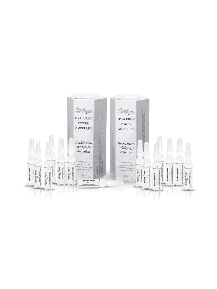Beauty Nature Cosmetics Hyaluron Power ampullen 2 x 7 Tage Kur