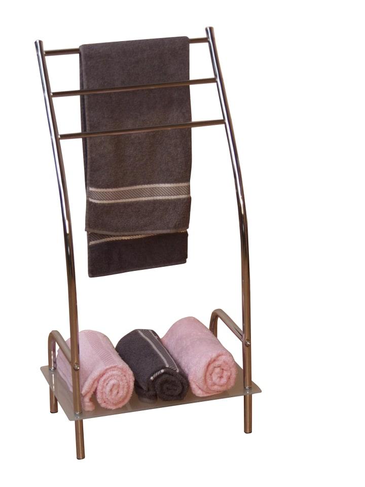 Handtuchhalter mit Ablage Handtuchhalter in silber und andere