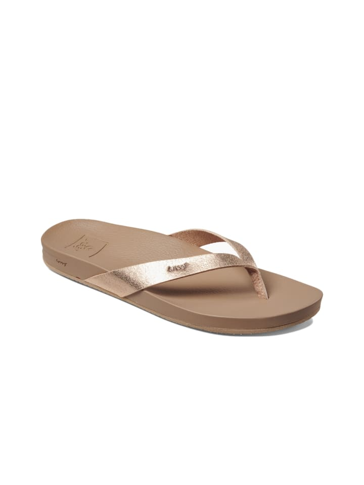 Reef Zehentrenner Sandale Cushion Court in Rose Gold