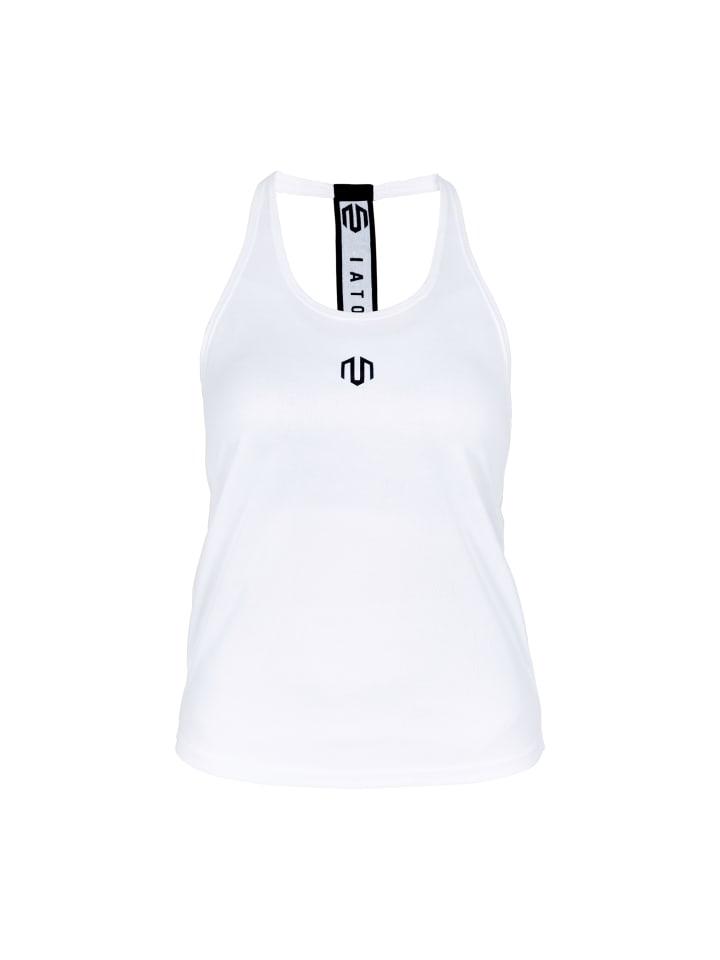 MOROTAI Sport-Top Performance Stringer in Weiß