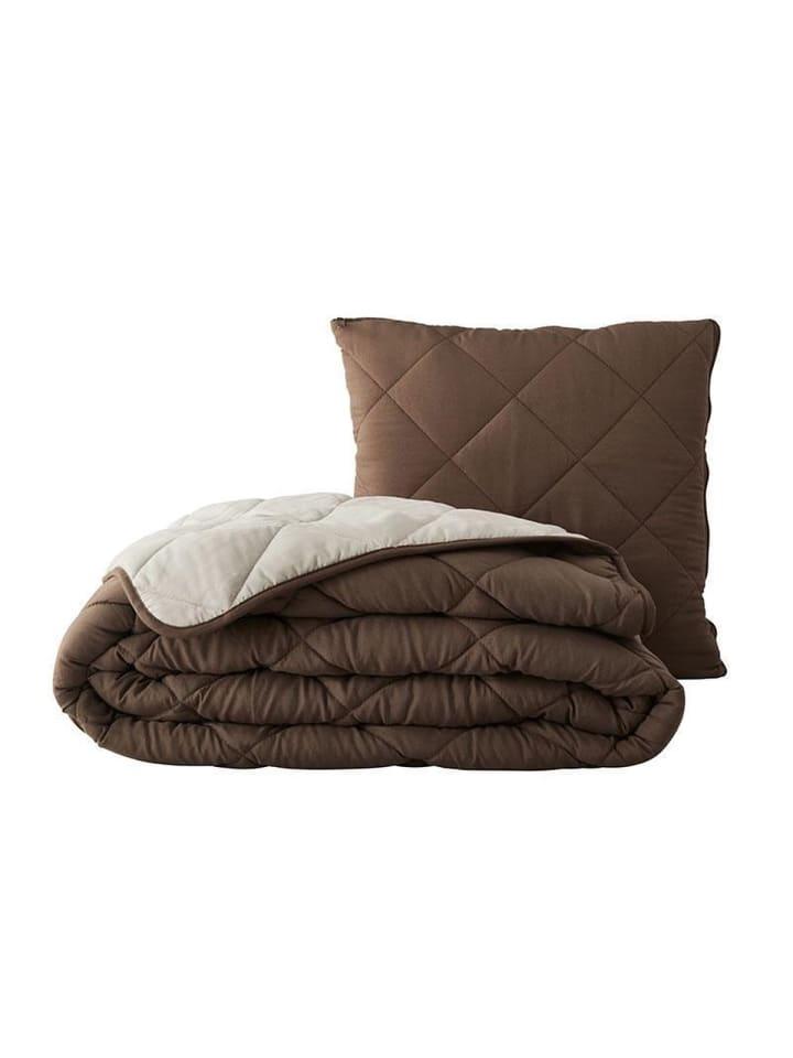 "GMD Living Kissen ""Magic Pillow"" 2 in 1 in Braun"
