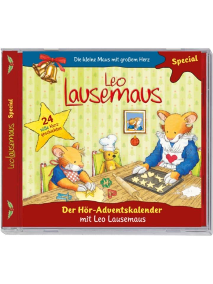 KIDDINX CD Leo Lausemaus - Der Hör-Adventskalender