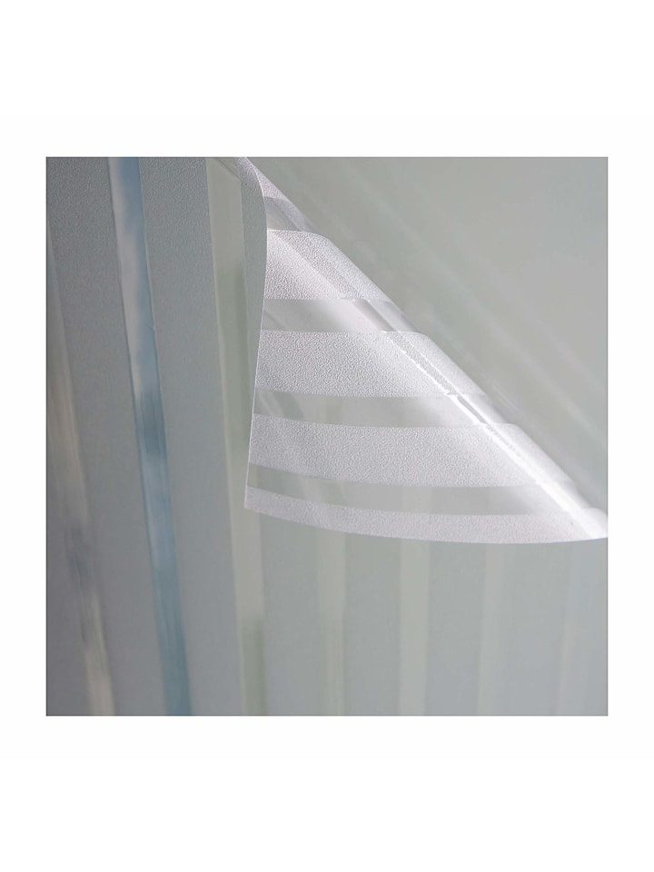 Ondeco® Fensterfolie - Stripe transparent in Stripe transparent