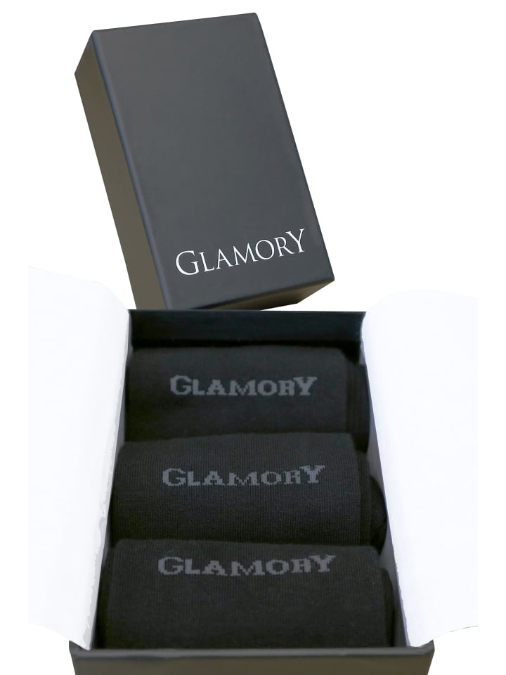 Glamory Socken Freedom Geschenkbox (3 Paar) in black