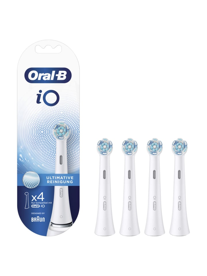 """Oral-B Aufsteckbürsten """"iO Ultimative Reinigung"""" (4er Pack)"""