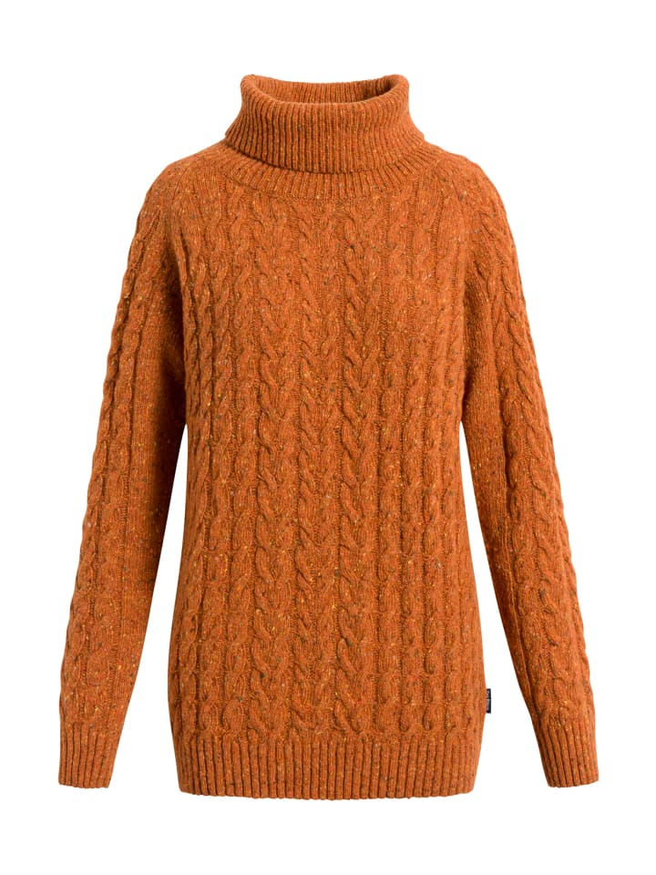 Sea Ranch Sweatshirt Paulette in harvest pumpkin