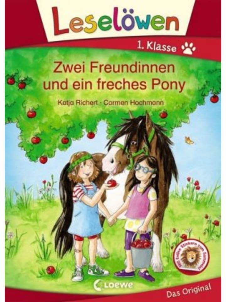 Loewe Verlag Leselöwen 1. Klasse - Zwei Freundinnen und ein freches Pony