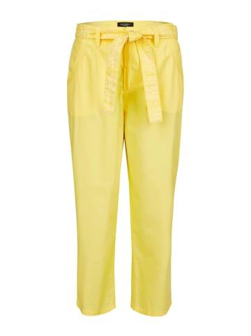 Bexleys woman Caprihose in gelb