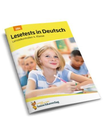Hauschka Lesetests in Deutsch - Lernzielkontrollen 4. Klasse