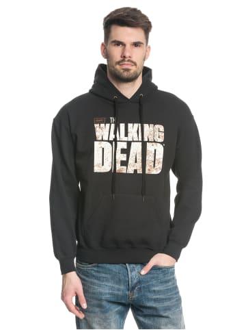 The Walking Dead Kapuzensweatshirt Walking Dead Logo in schwarz