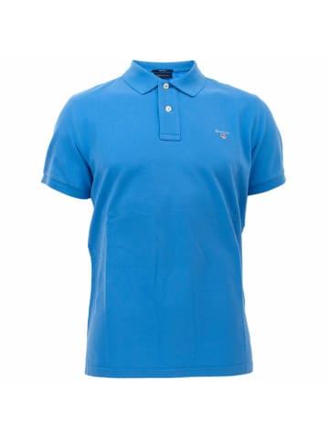 Gant Poloshirt kurzarm in blau