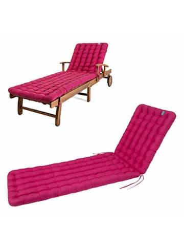 """Have a Seat Polsterauflage """"Gartenliege"""" in hot pink"""