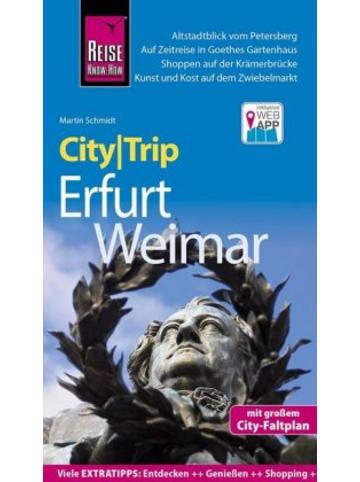 Reise Know-How Verlag Peter Rump Reise Know-How CityTrip Erfurt und Weimar