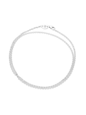 Giorgio Martello Milano Kette In Erbsketten Optik in Silber