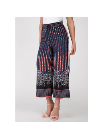 Recover Pants Sommerhose in marine/rot/weiß/braun