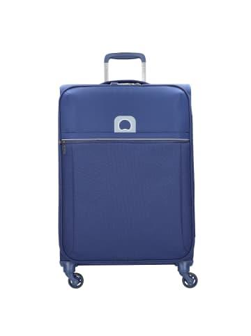 Delsey Brochant 4-Rollen Trolley 67 cm in blue