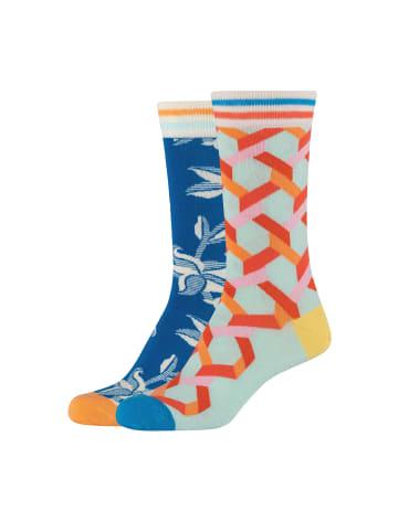 Fun Socks Socken 2er Pack in mehrfarbig