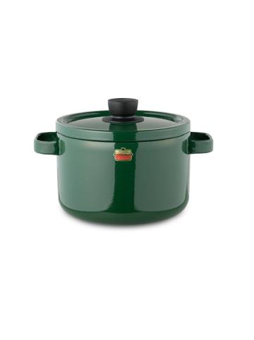 Honey Ware Emaille Topf, 22 cm, grün, 5,6 Liter