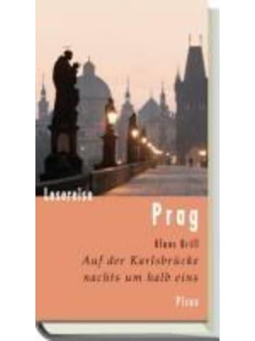 Picus Verlag GmbH Lesereise Prag   Auf der Karlsbrücke nachts um halb eins