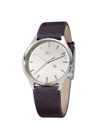 """Xen Herrenuhr """"XQ0235"""" in grau und silber"""