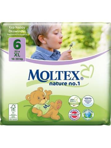 """MOLTEX Ökowindeln """"Nature No1"""" XL Gr. 6 (16-30 kg) 21 Stück"""