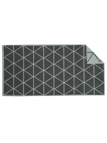 "Freundin Badevorleger ""GRAPHICS-Triangle"" in Grau - (L) 120 x (B) 67 cm"